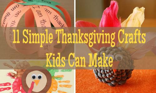 11 Simple Thanksgiving Crafts Kids Can Make Toronto Ottawa Calgary Vanco