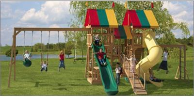 playsets, play structures, outdoor play, backyard play sets