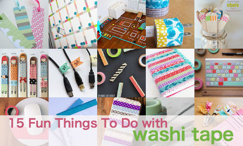 15 fun things to do with washi tape toronto ottawa