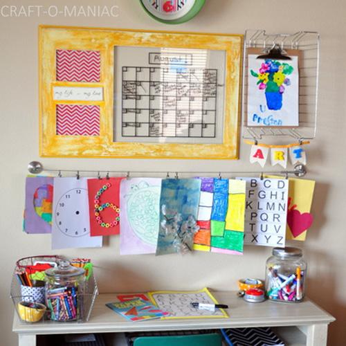 8 diy homework station ideas - help! we've got kids