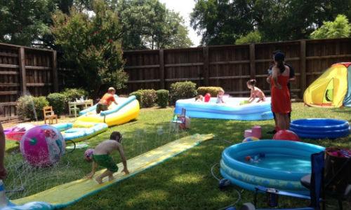 Wild Backyard Party : Great Backyard Birthday Party Ideas for Kids  Toronto, Ottawa