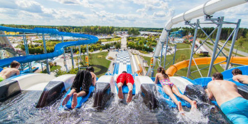 Calgary Hotels With Waterslides Close To Zoo