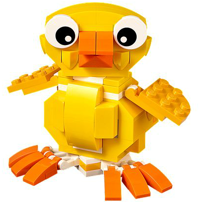15 non chocolate treats gifts for kids easter baskets help we lego easter chick negle Choice Image