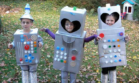 13 Quick and Easy Halloween Costumes for Kids | Help! We've Got Kids