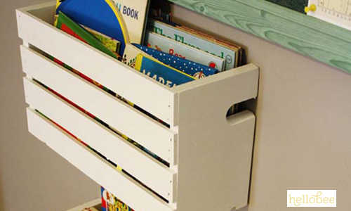 9 Ideas for Organizing Your Child's Books | Help! We've Got Kids