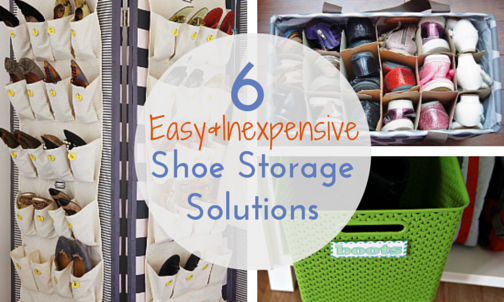 Perfect Inexpensive Shoe Storage Ideas | Idi Design