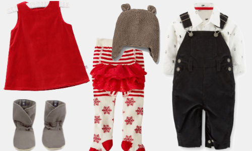 Baby Clothes Holiday Dressy Party Outfit | Help! We've Got Kids