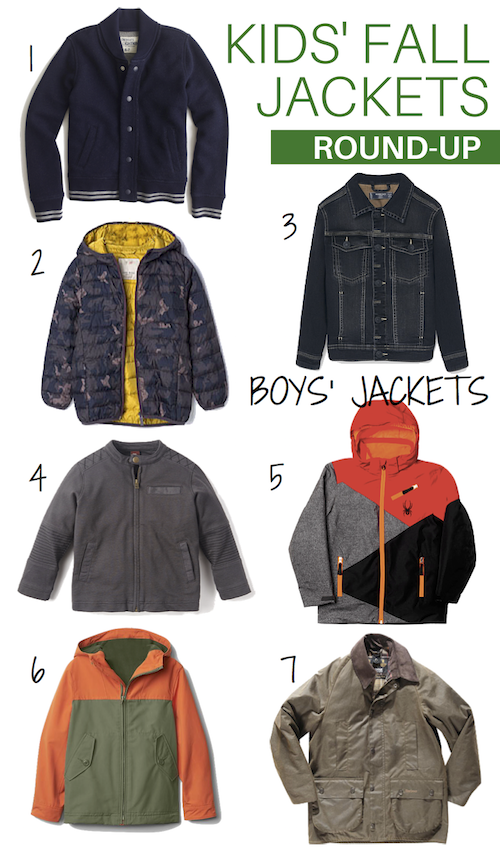 Kids' Fall Jackets Round-Up: Boys | Help! We've Got Kids