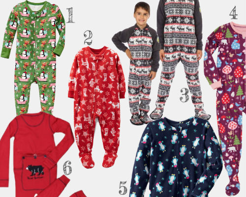 Winter-Theme and Christmas PJs for Kids | Help! We've Got Kids
