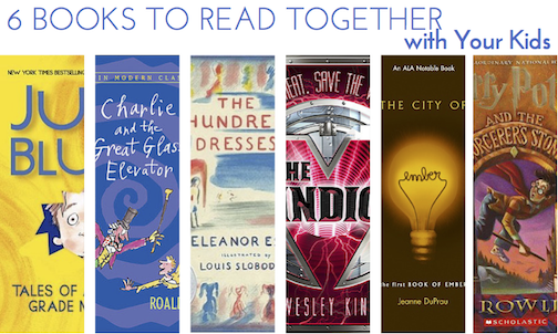 6 Books To Read Together With Your Kids | Help! We've Got Kids