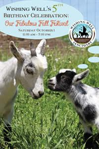 Wishing Well Sanctuary's 5th Birthday Celebration: Our Fabulous Fall Festival!