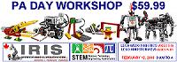 PA DAY: LEGO Robotics Workshops