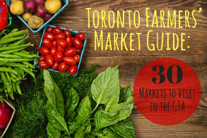 Farmers' Markets in Toronto and the GTA