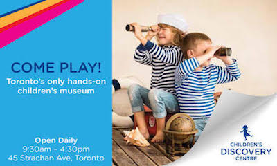 Free Friday at the Children's Discovery Centre