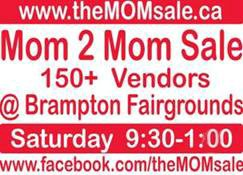 Brampton MOM 2 MOM Garage Sale
