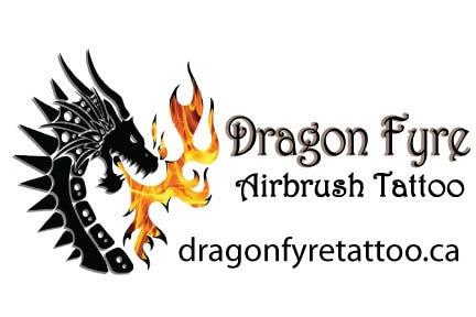 Dragon Fyre Airbrush Tattoo