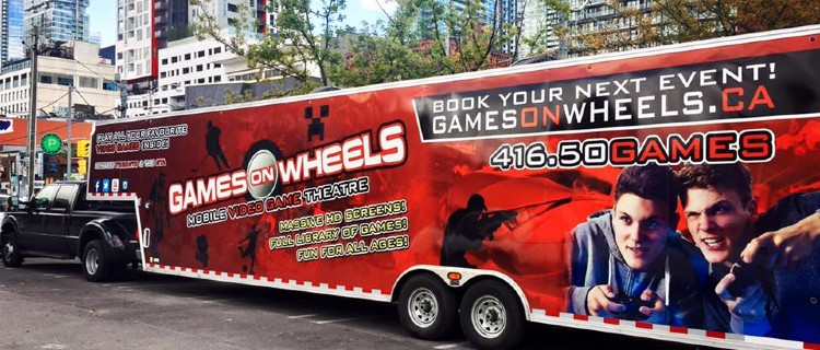 Video Game Parties: Games On Wheels
