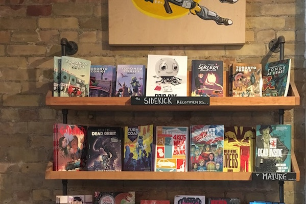 The Sidekick Comic Book Store and Café