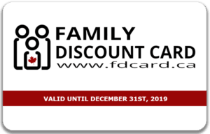 New Family Discount Card for Toronto Families