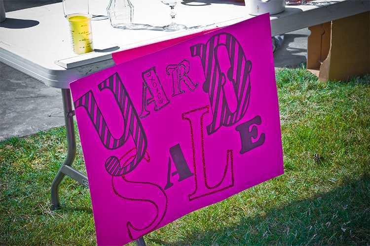 Kitchener Yard Sale May