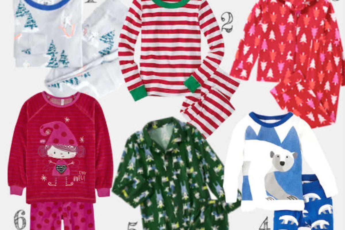 Article: 12 Cute Christmas Pajamas for Kids
