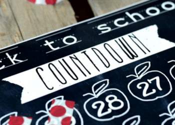 9 Back-To-School Countdown Ideas for Kids