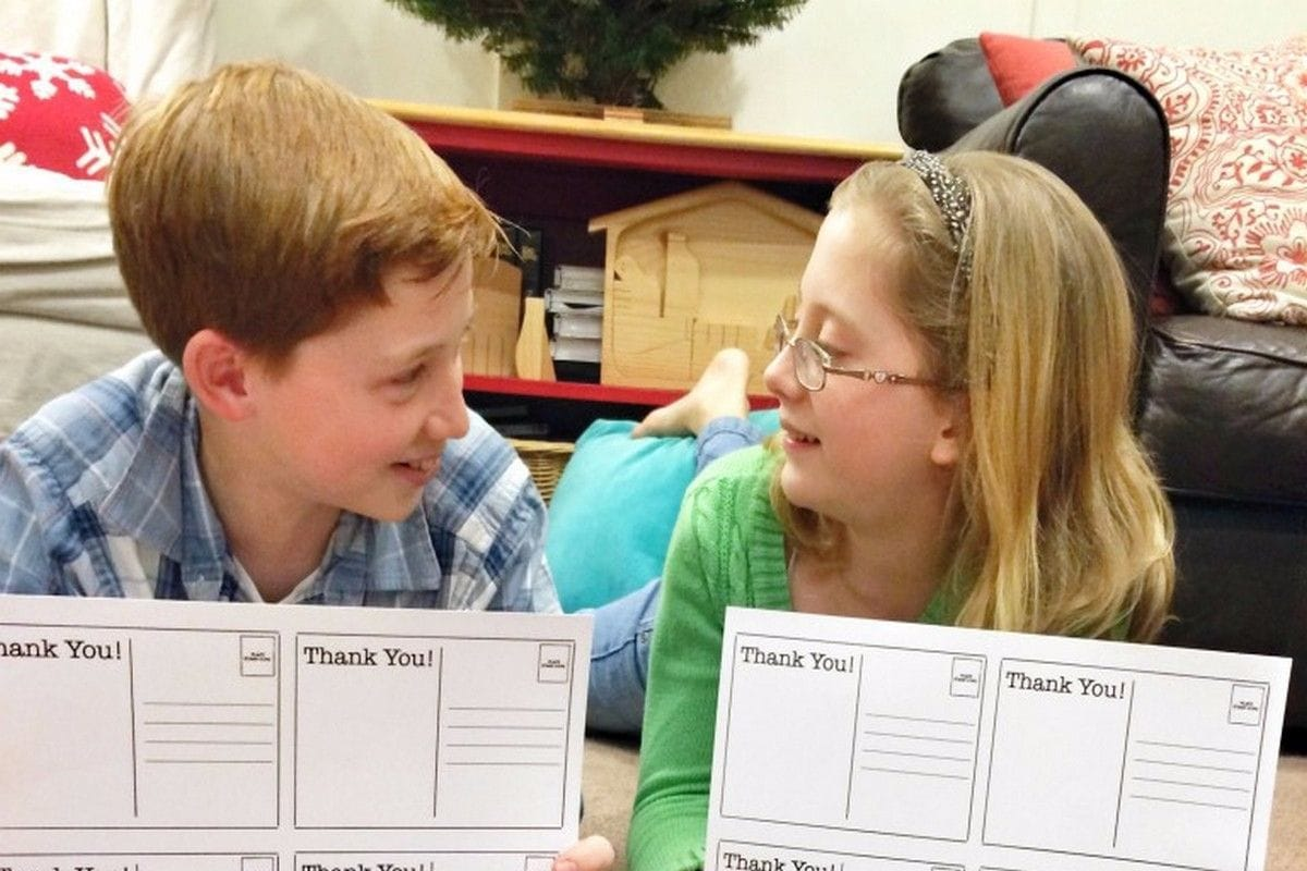 Article: 5 Twists on Traditional Thank-You Notes for Kids