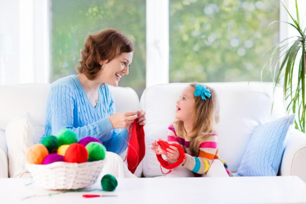 Article: The Benefits of Knitting for Kids