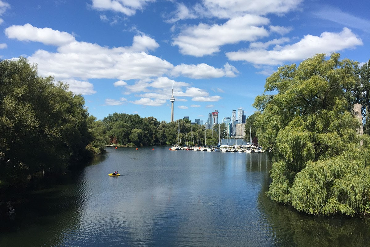 How To Spend a Day on the Toronto Islands With Kids