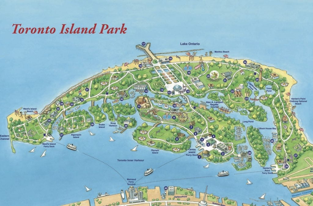 Image result for toronto island""