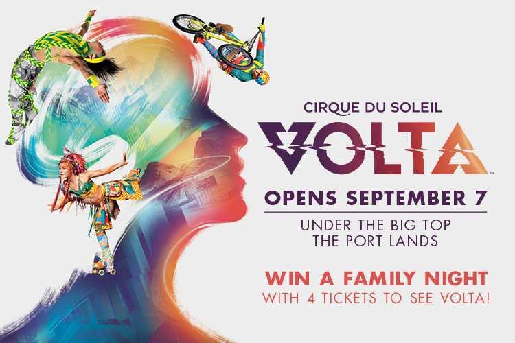 Cirque du Soleil VOLTA promo image