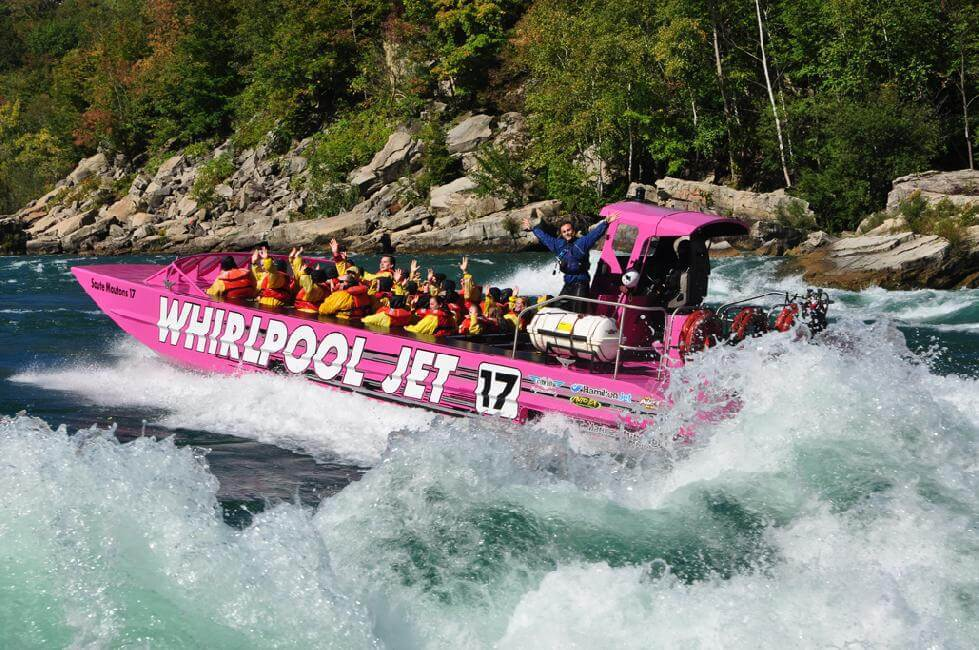Contest: Enter to win 4 tickets for Whirlpool Jet Boat Tours Niagara