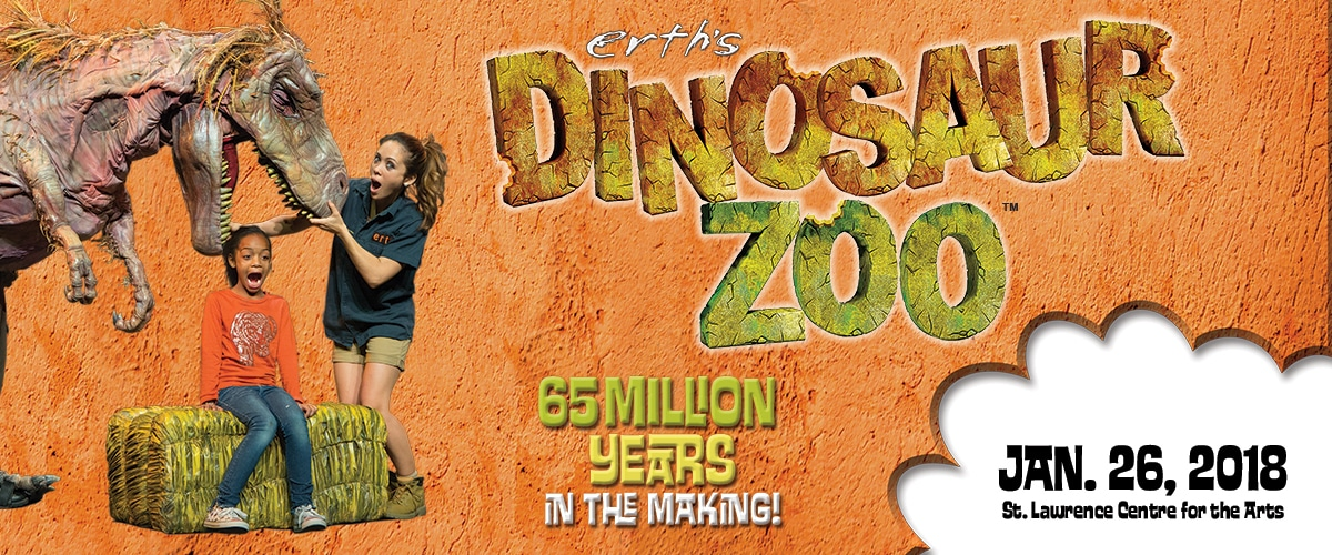 Contest: Win 4 Tickets to Dinosaur Zoo Live in Toronto