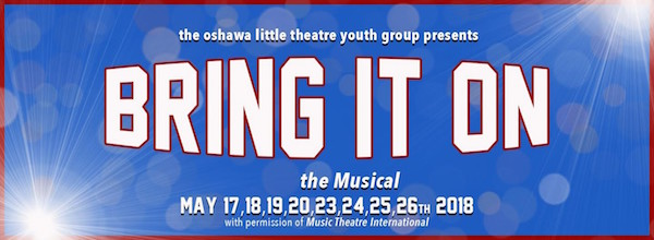 Event Listing: Bring It On at Oshawa's Little Theatre