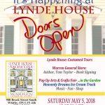 Doors Open Lynde House poster