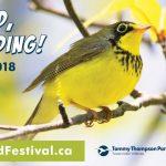 Spring Bird Festival banner