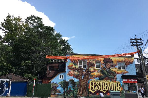 Leslieville street art
