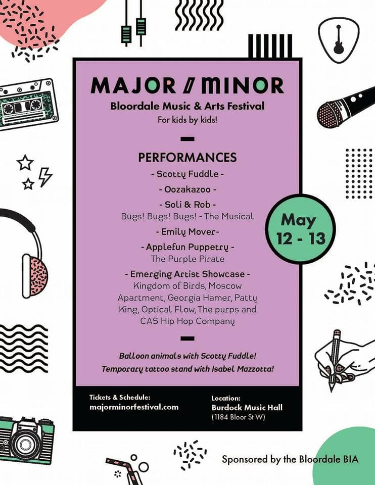 Major/Minor Bloordale Music & Arts Festival