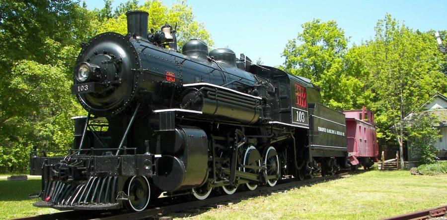 Train at Westfield