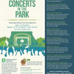 2018 Concerts in the Park - Poster