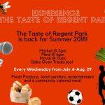 taste of regent park