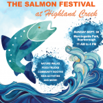 The Salmon Festival of Highland Creek