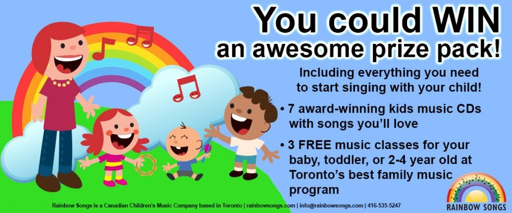 Contest: Win Free Rainbow Songs Classes and CDs