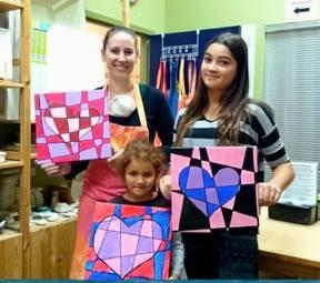 Paint and Popcorn Workshop –Glaze Craze