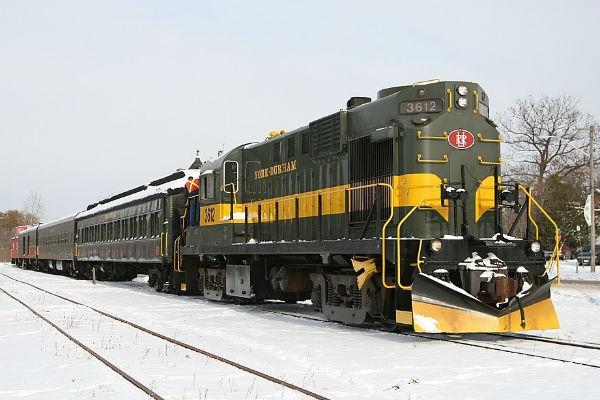 All Aboard the Santa Train in Uxbridge this Holiday Season
