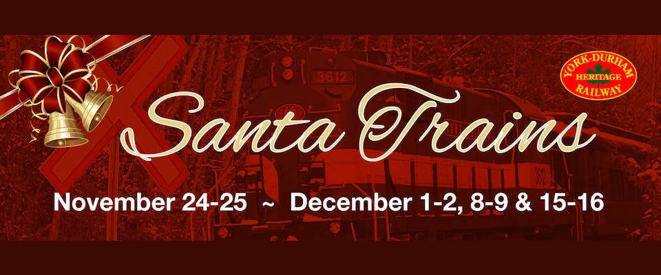 Win Tickets for 4 Aboard the Santa Train