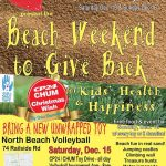 Event: Beach Weekend To Give Back