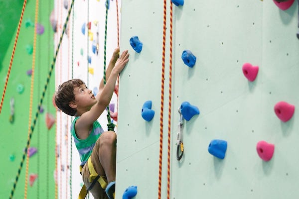 Where To Go Indoor Climbing With Kids Toronto & GTA