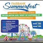 Events Calendar: Fairbank Summerfest