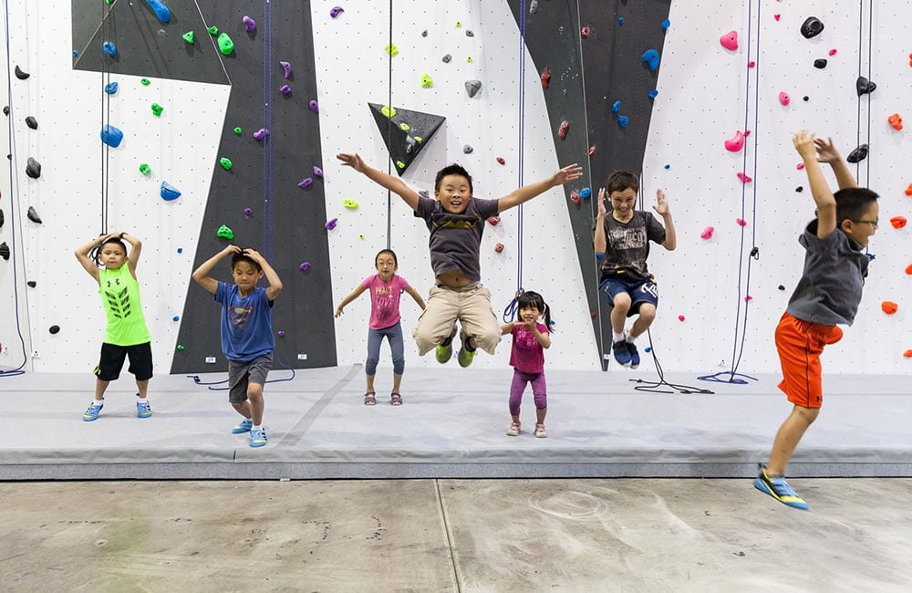 Drop-In Climbing Gyms for Toronto Kids in Mississauga and Markham